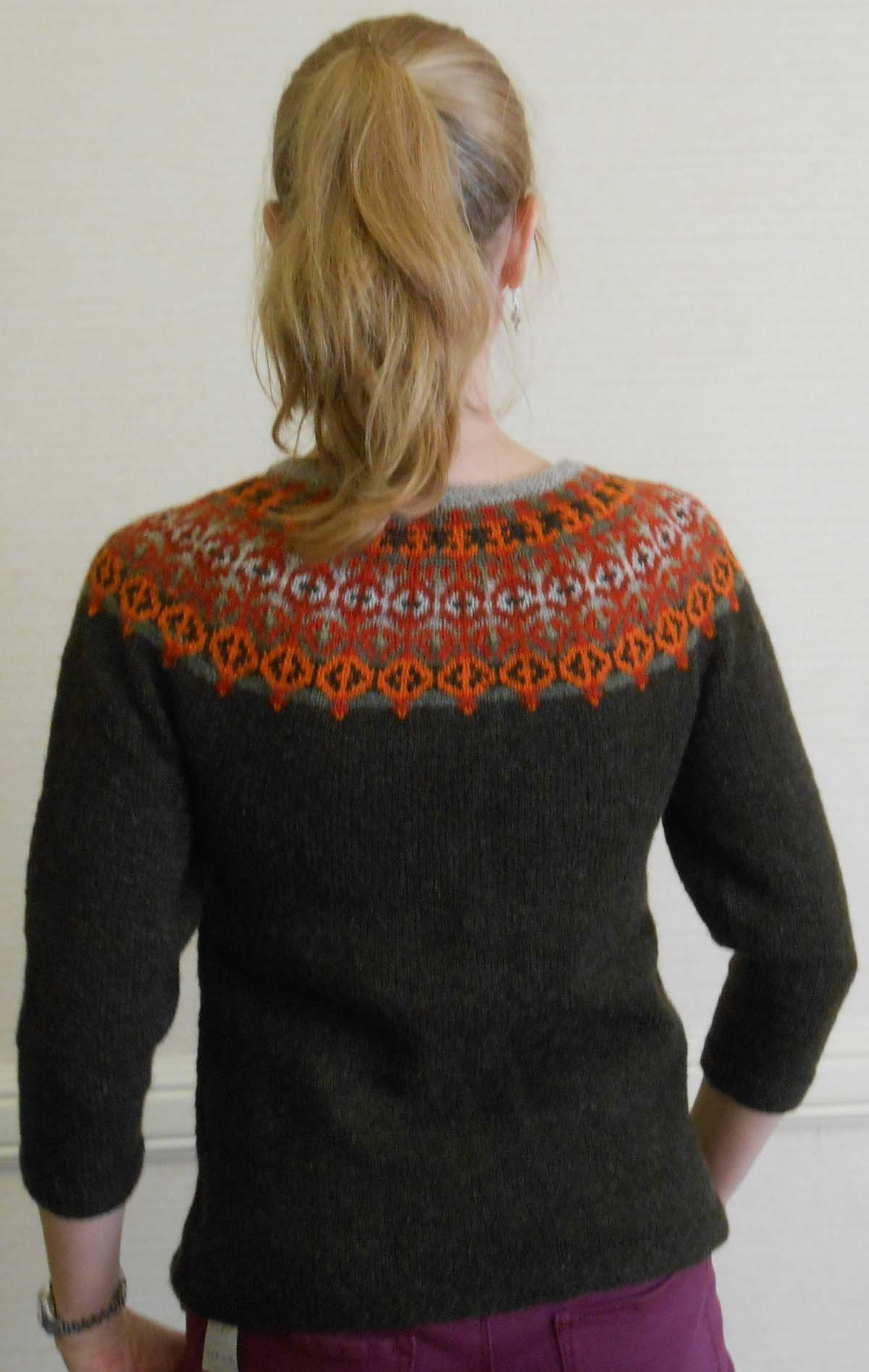 Yoke Knitting Pattern Helsinki Sweater Pattern