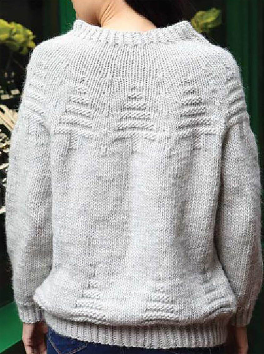 Yoke Knitting Pattern Yoke Sweater Knitting Pattern