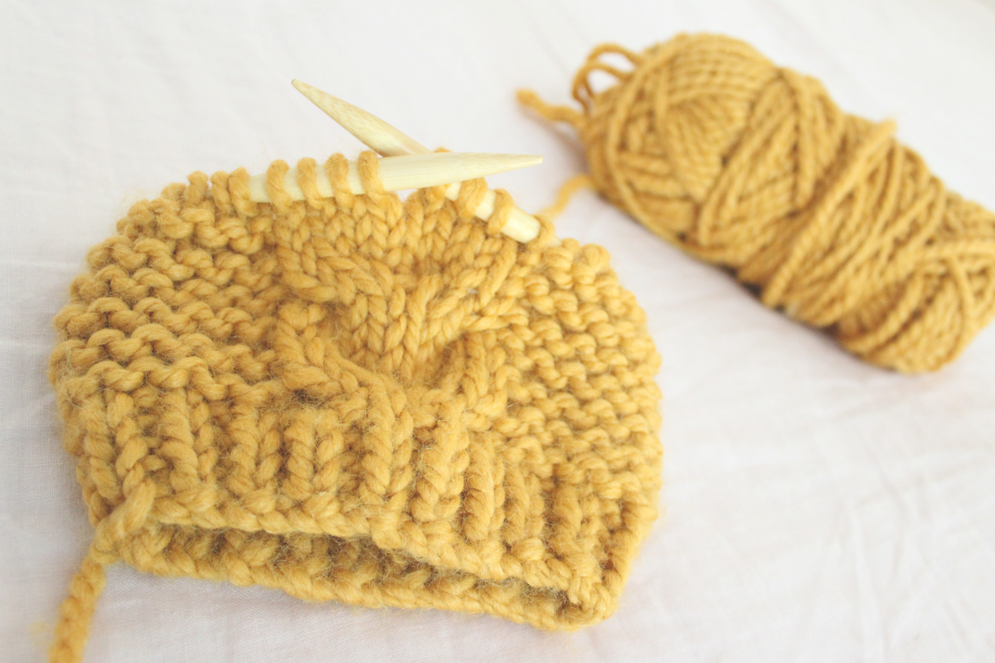 Free Bulky Knitting Patterns Free Knitting Pattern Super Bulky Toddler Cable Hat Pattern