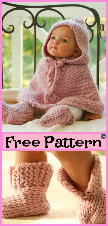 Free Easy Baby Poncho Knitting Pattern Crochet Ba Poncho Free Patterns Diy 4 Ever