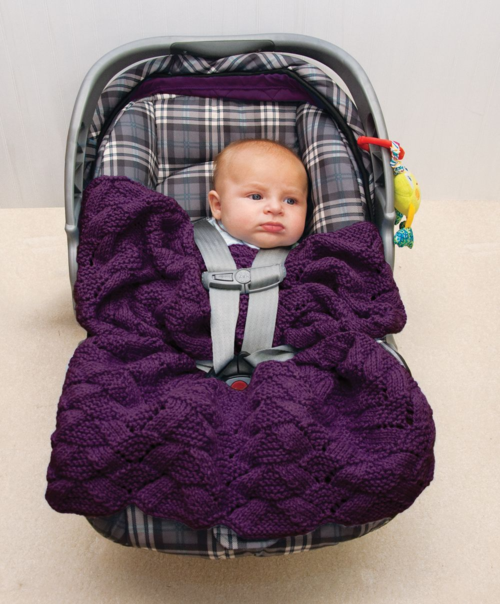 Free Easy Baby Poncho Knitting Pattern Free Easy Car Seat Knit Pattern