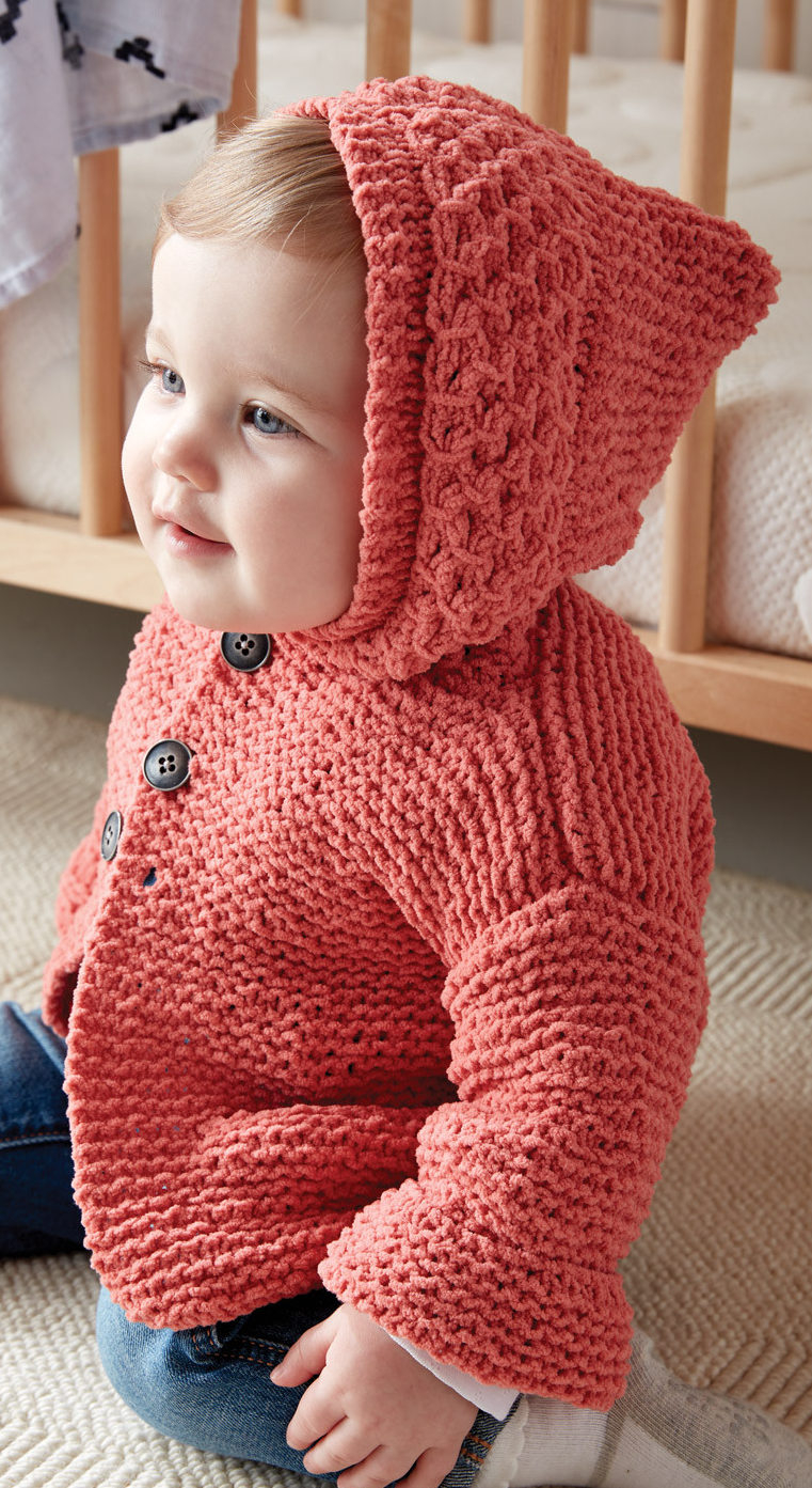 Free Easy Baby Poncho Knitting Pattern Little One Hoodie Knitting Patterns In The Loop Knitting