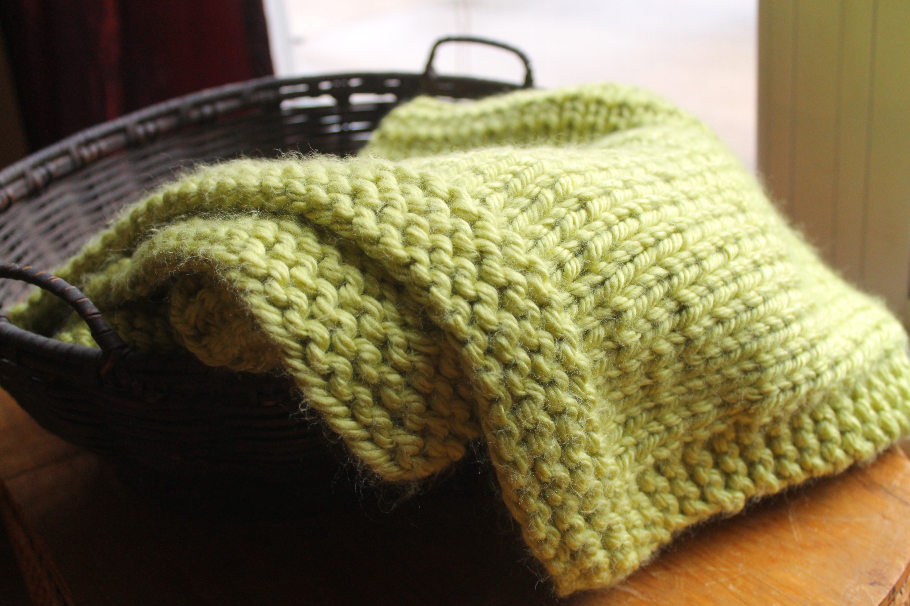 Free Easy Knitting Patterns For Baby Blankets Simple Square Knitted Ba Blanket Pattern Handmade Anne Potter