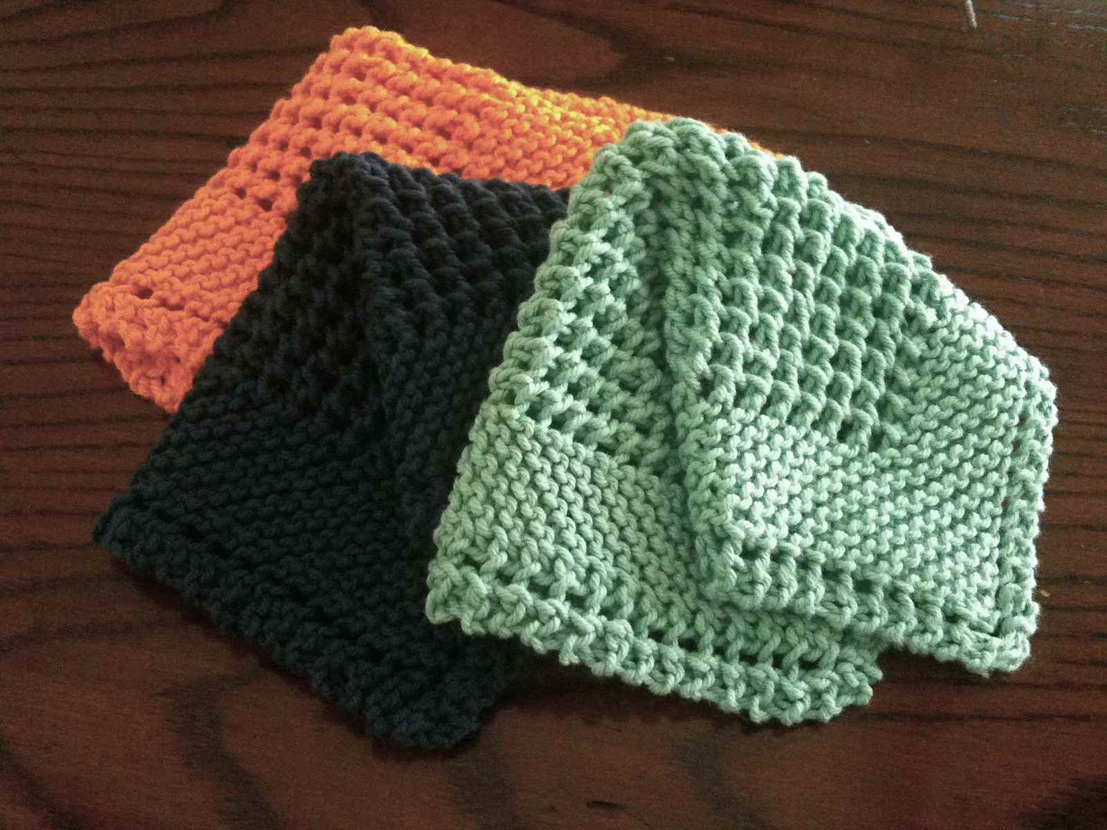 Free Knitted Dishcloth Pattern 10 Knit Dishcloth Patterns For Beginners