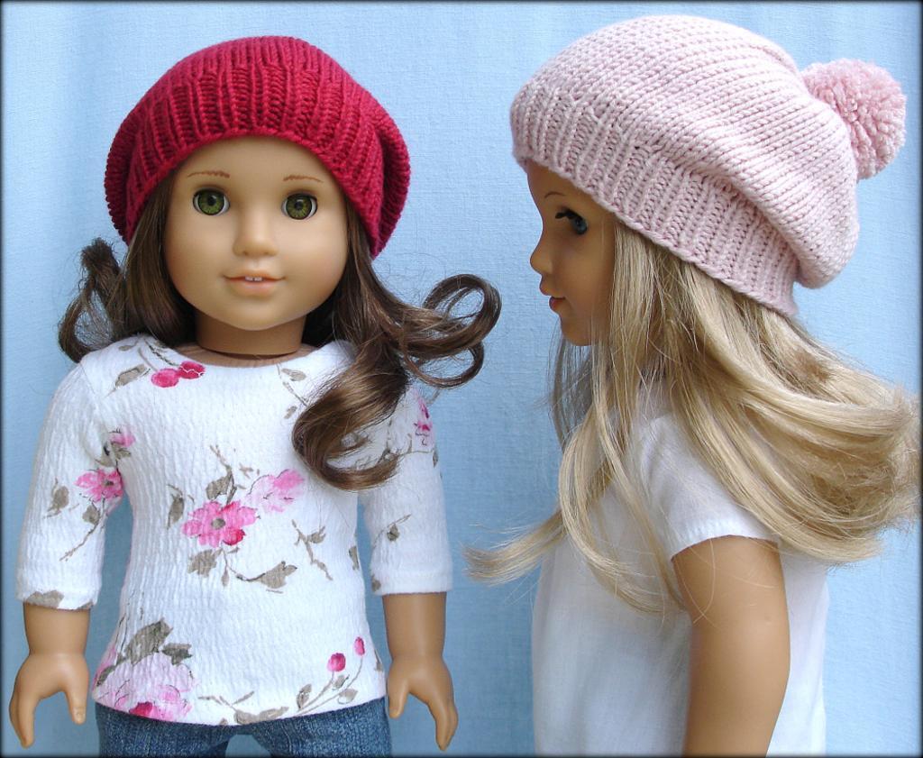 Free Knitting Patterns For Dolls Hats 10 Knitting Patterns For Dolls Of All Sizes