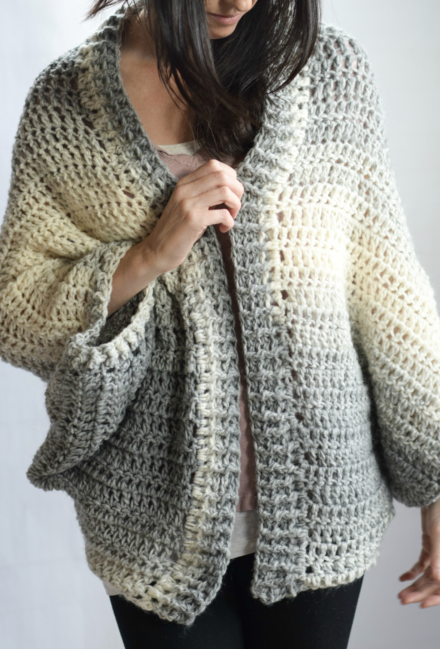 Free Knitting Patterns For Shrugs And Wraps Done In A Day Quick Shrug Crochet Pattern Mama In A Stitch