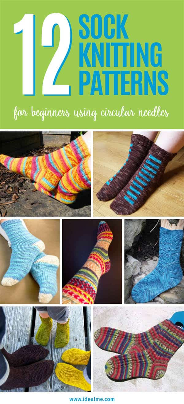 Free Knitting Patterns For Socks On Four Needles 12 Sock Knitting Patterns For Beginners Using Circular Needles