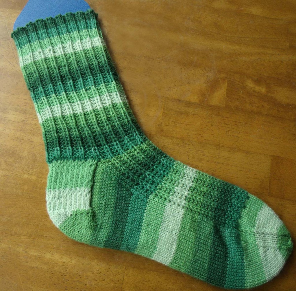 Free Knitting Patterns For Socks On Four Needles Not Wasting Time Free Sock Knitting Pattern Melodys Makings