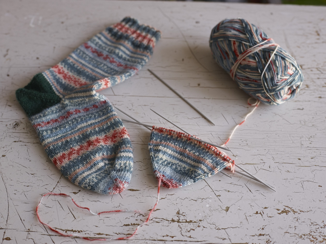 Free Knitting Patterns For Socks On Four Needles The Easiest Sock In The World