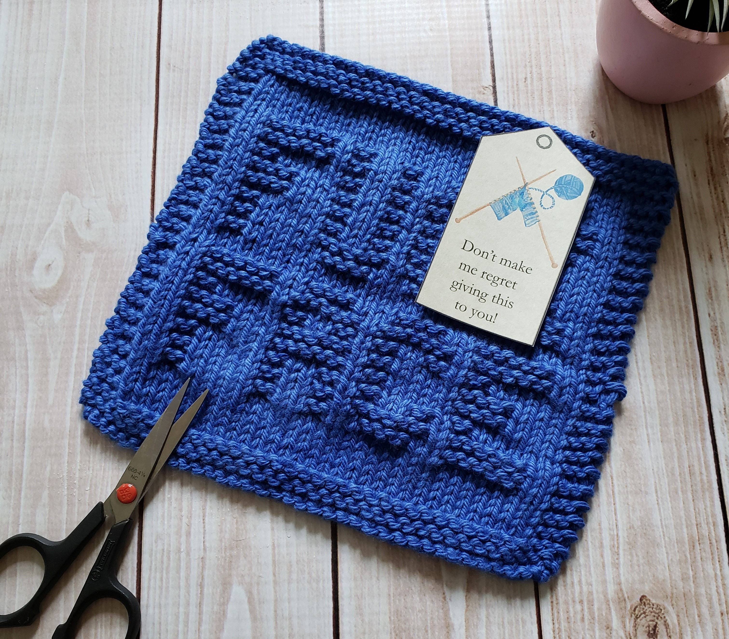Great Image of Knit Dishcloth Patterns For Beginners ...