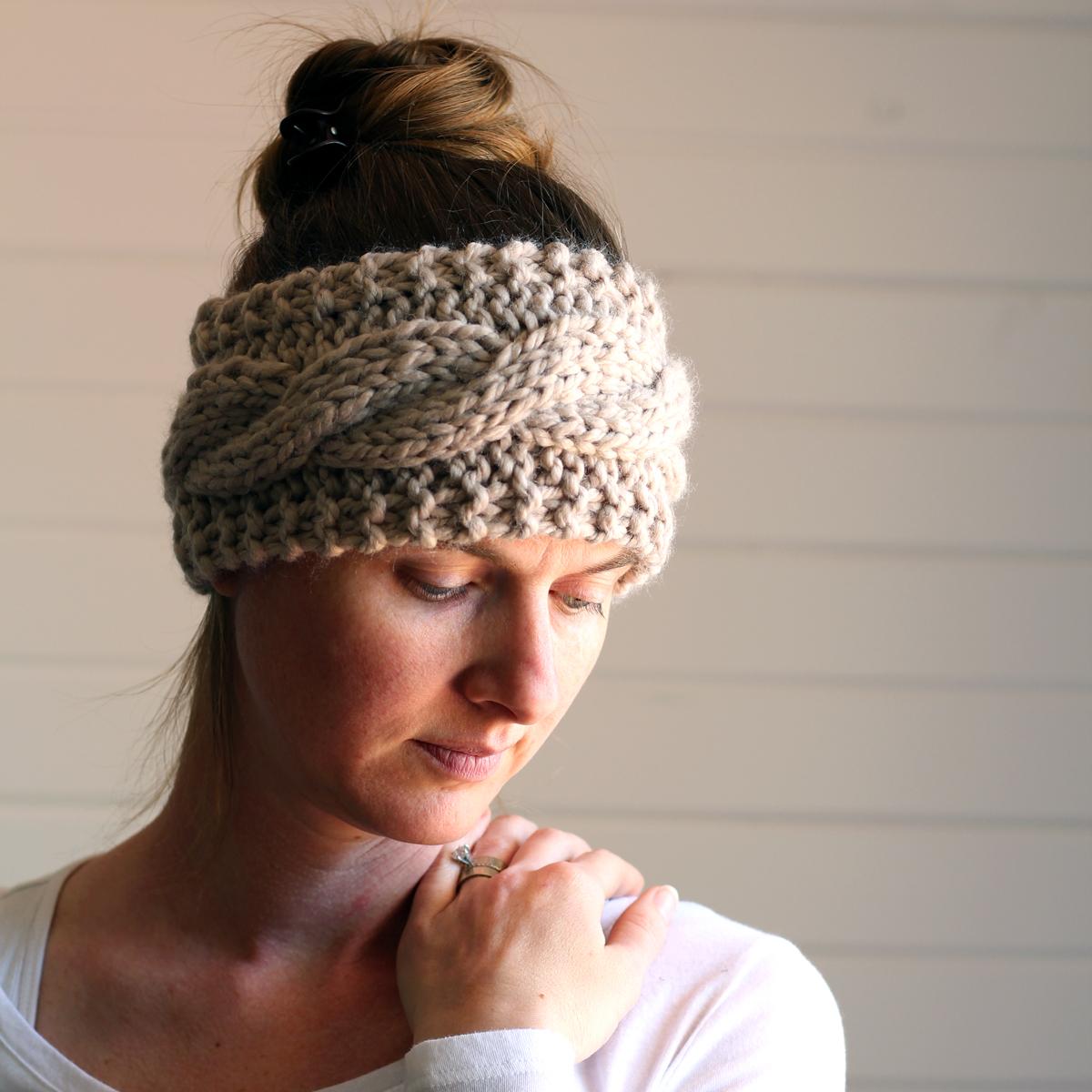 Knit Headband Pattern Friendship Headband Knitting Pattern