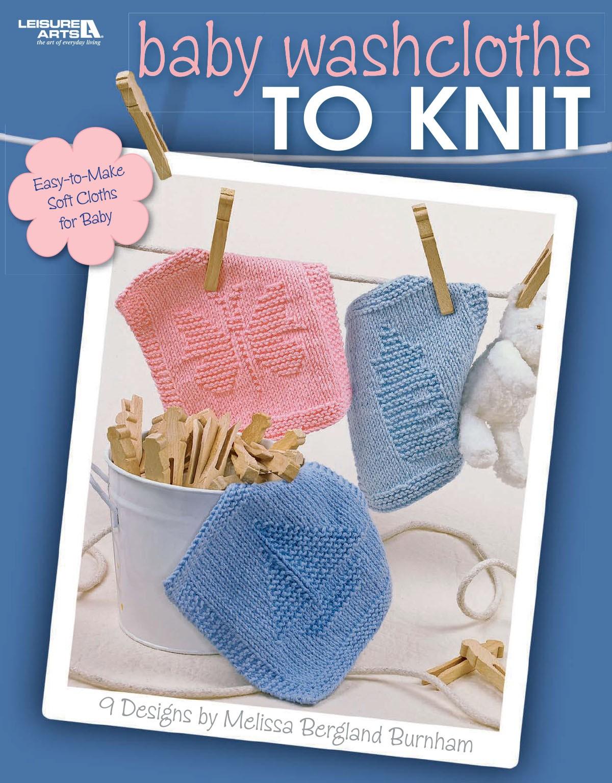 Knit Washcloth Patterns Ba Washcloths To Knit