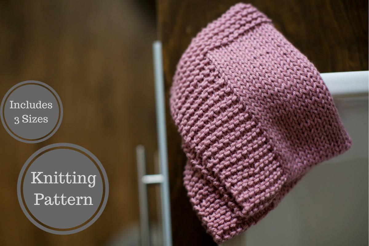 Knit Washcloth Patterns Bordered Washcloth Pattern Easy Knit Washcloth Pattern Easy Dishcloth Knitting Pattern Beginner Knitting Pattern Home Knit Pattern