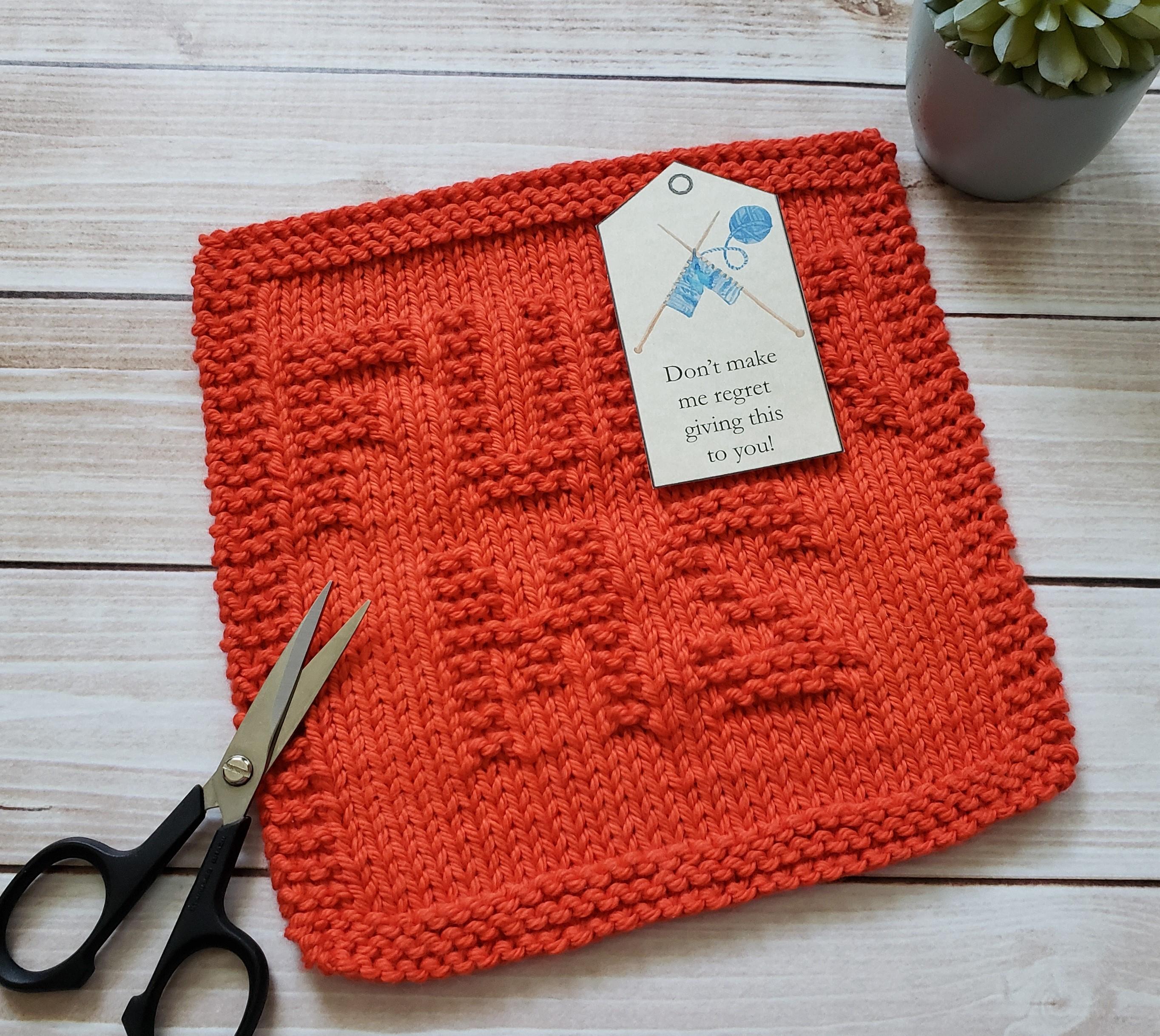Knit Washcloth Patterns Instant Digital Download F Ms Dishcloth Knit Pdf Pattern Beginner Easy Knitting Project Fuck Ms Washcloth