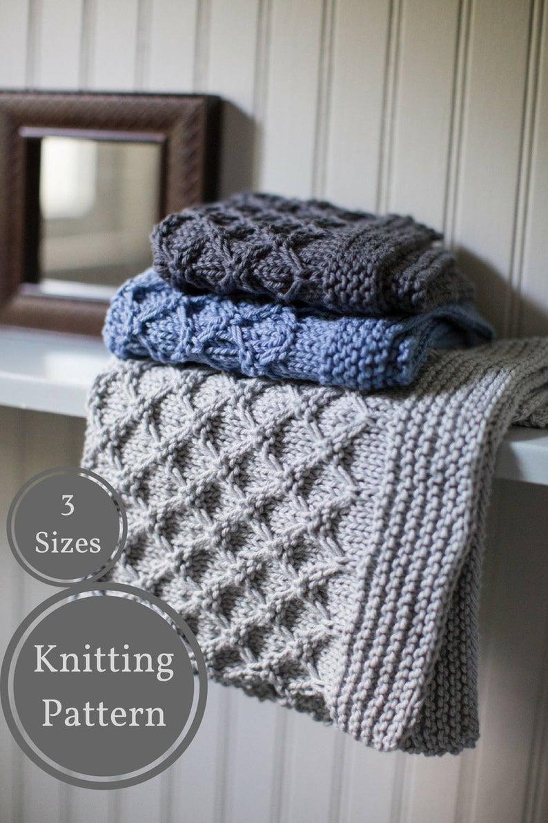 Knit Washcloth Patterns Mock Honeycomb Washcloth Pattern Easy Knit Washcloth Pattern Easy Dishcloth Knitting Pattern Beginner Knitting Pattern Home Knitting