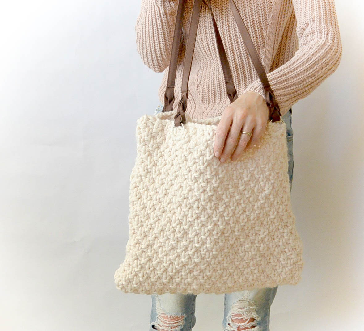 Knitted Bag Pattern Aspen Mountain Knit Bag Pattern Mama In A Stitch