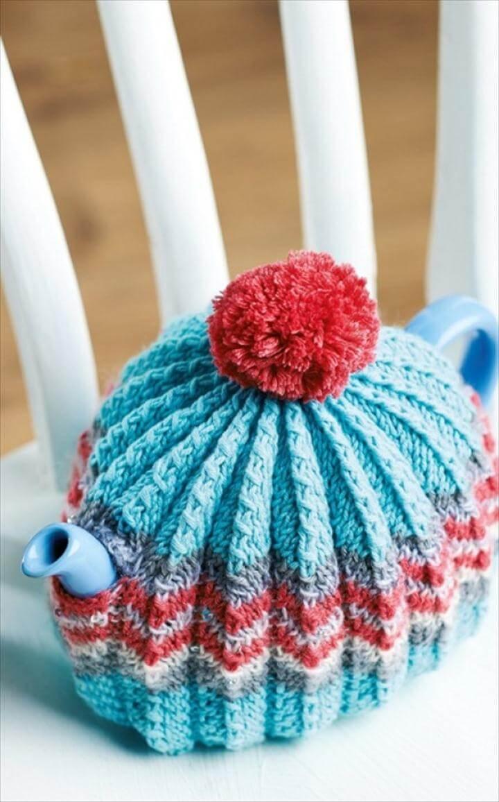 Knitted Tea Cosy Pattern Easy 99 Pretty Marvelous Crochet Tea Cozy Pattern