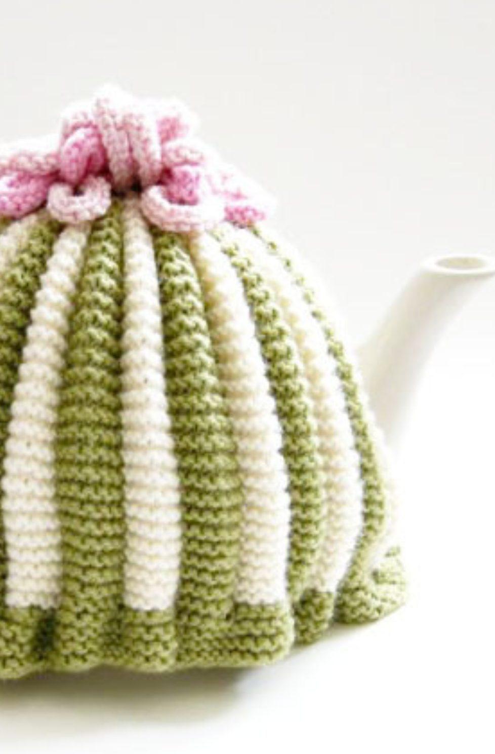 Knitted Tea Cosy Pattern Easy Retro Tea Cosy Pattern Free Knitting Patterns Handy Little Me
