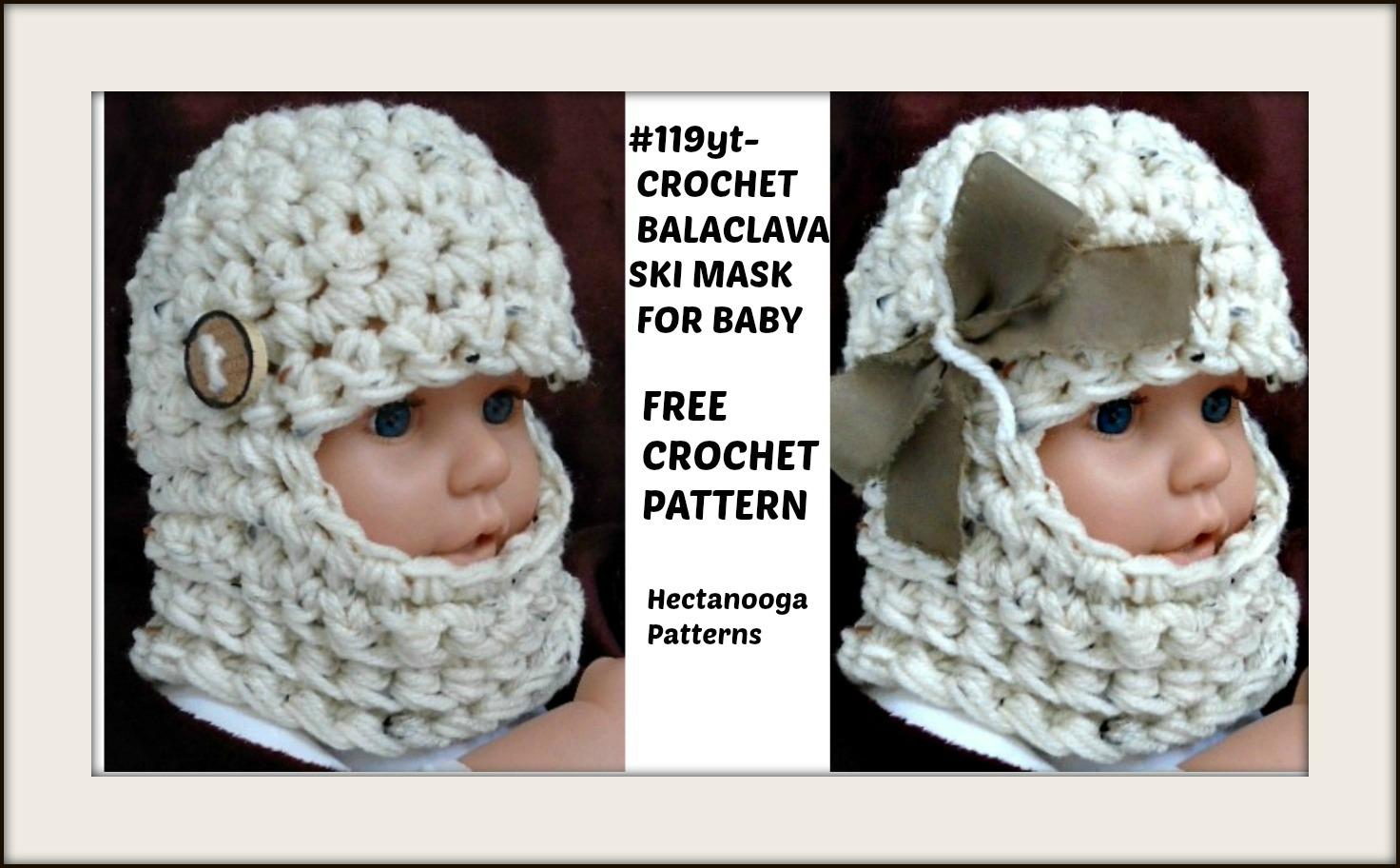 Knitting Pattern Balaclava Hectanooga Patterns Free Crochet Pattern Ba Balaclava Ski Mask Hat