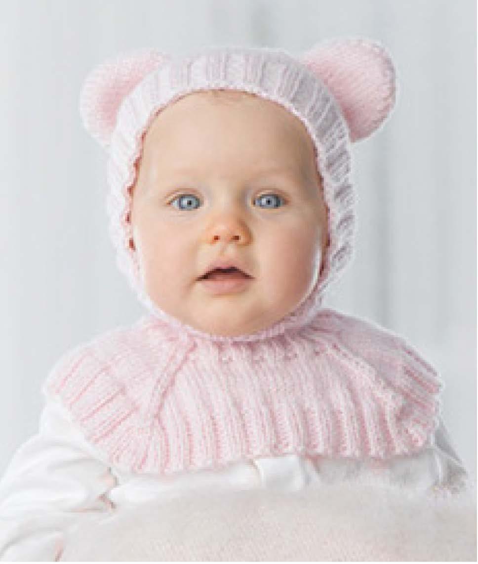 Knitting Pattern Balaclava Patons Dreamtime 8ply Teddy Bear Balaclava Crossways Wool Fabrics