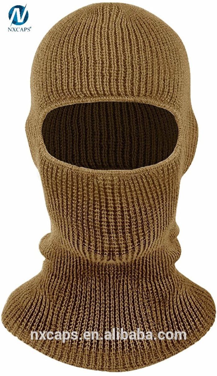 Knitting Pattern Balaclava Ski Mask Hat Knitting Patternwinter Face Mask Beanie Hats