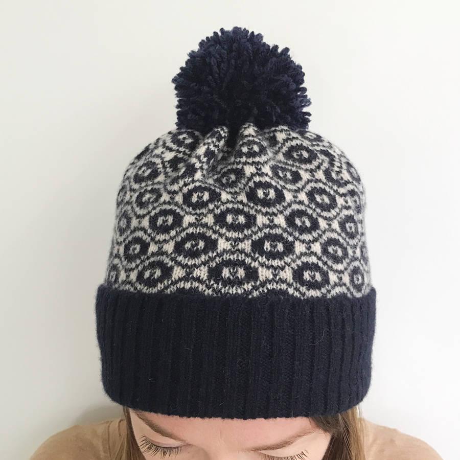 27+ Marvelous Photo of Knitting Pattern Bobble Hat ...