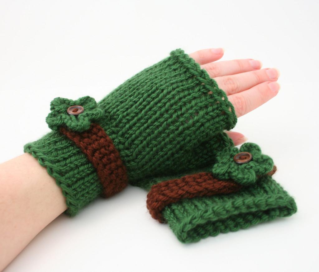 Knitting Pattern For Gloves Fingerless Gloves Knitting Pattern Knit Gloves Pattern