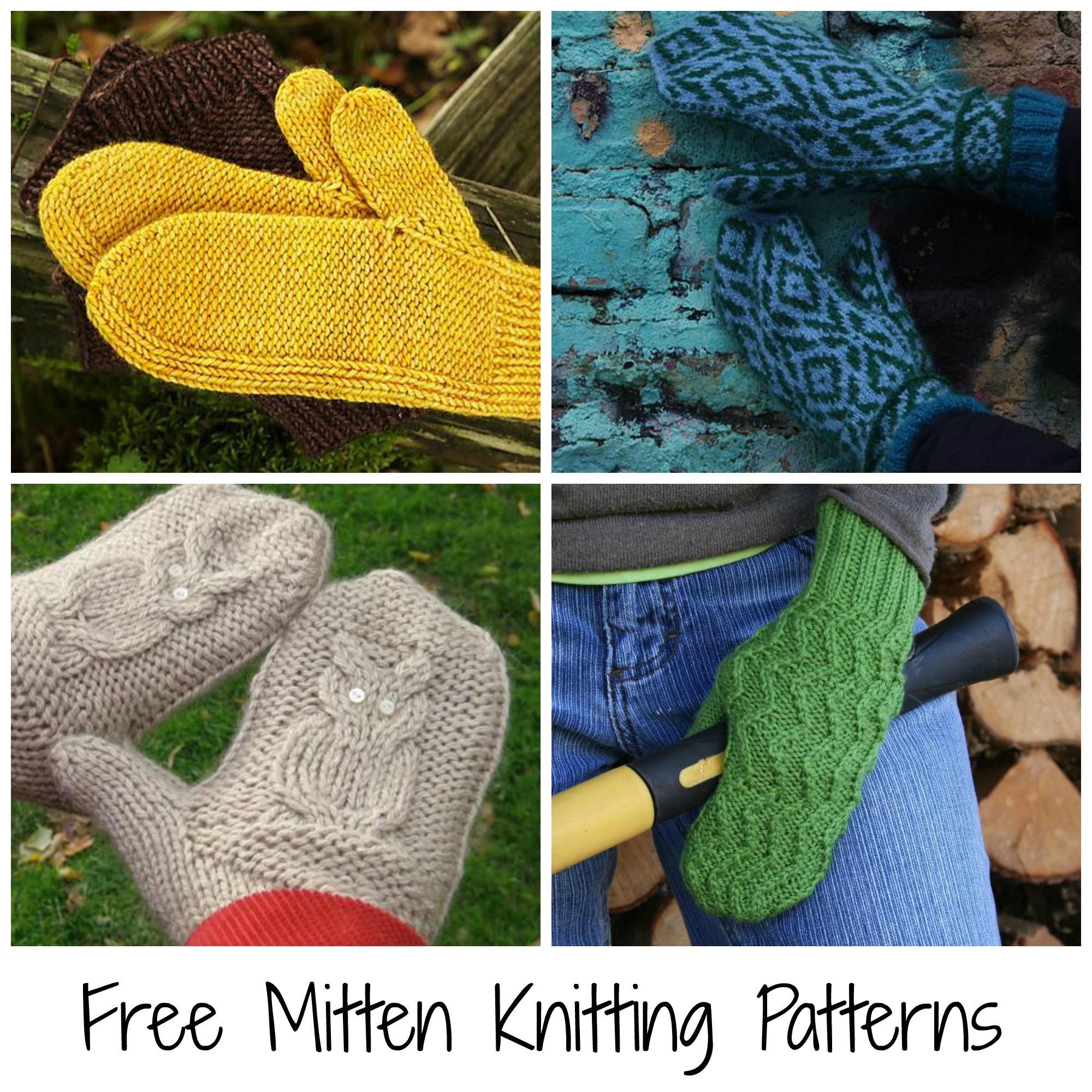 Knitting Pattern For Gloves Free Fingerless Gloves Knitting Pattern Roundup