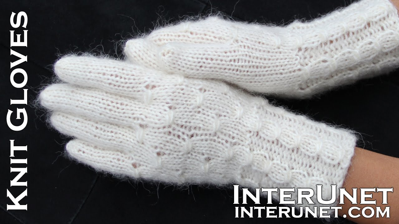 Knitting Pattern For Gloves Knit Gloves Womens Gloves Knitting Pattern