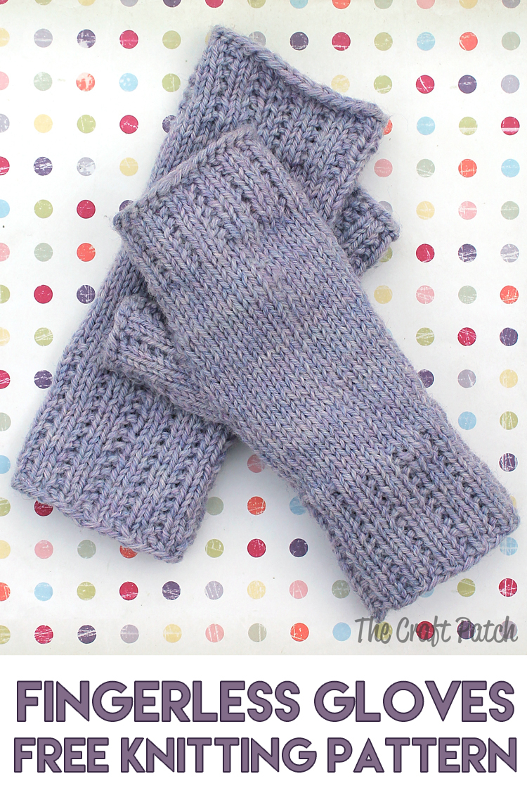 Knitting Pattern For Gloves Learn To Knit Happy Hands Fingerless Mitts Free Pattern