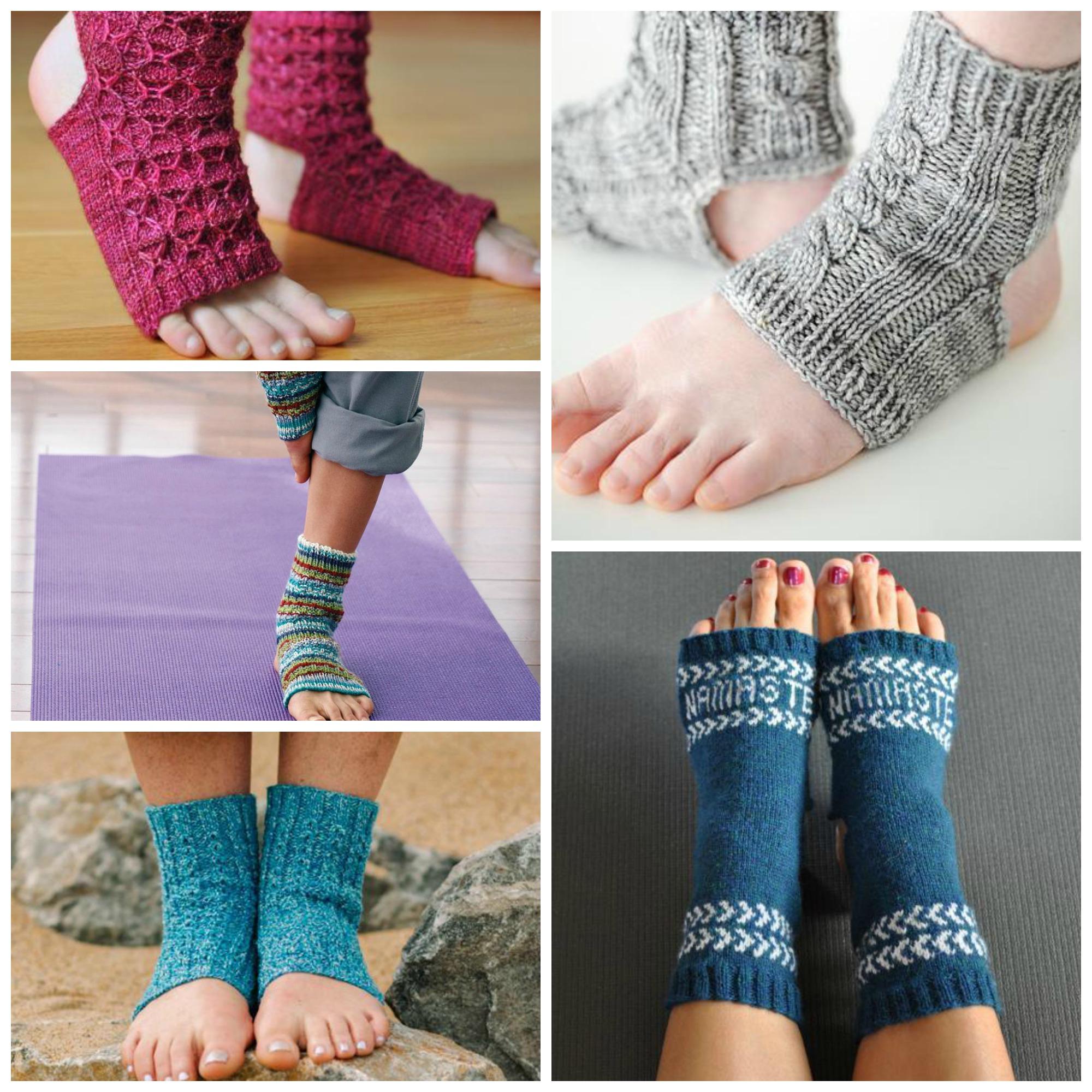 Knitting Pattern For Yoga Socks 10 Yoga Socks Knitting Patterns