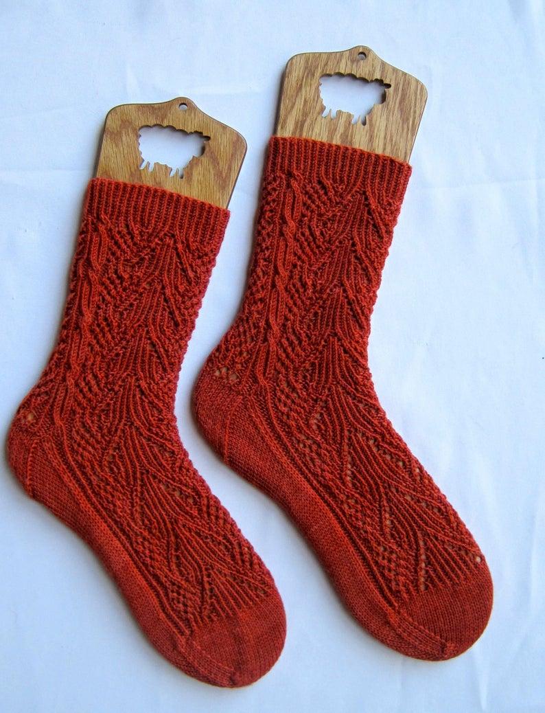 Amazing Image of Knitting Socks On Circular Needles ...