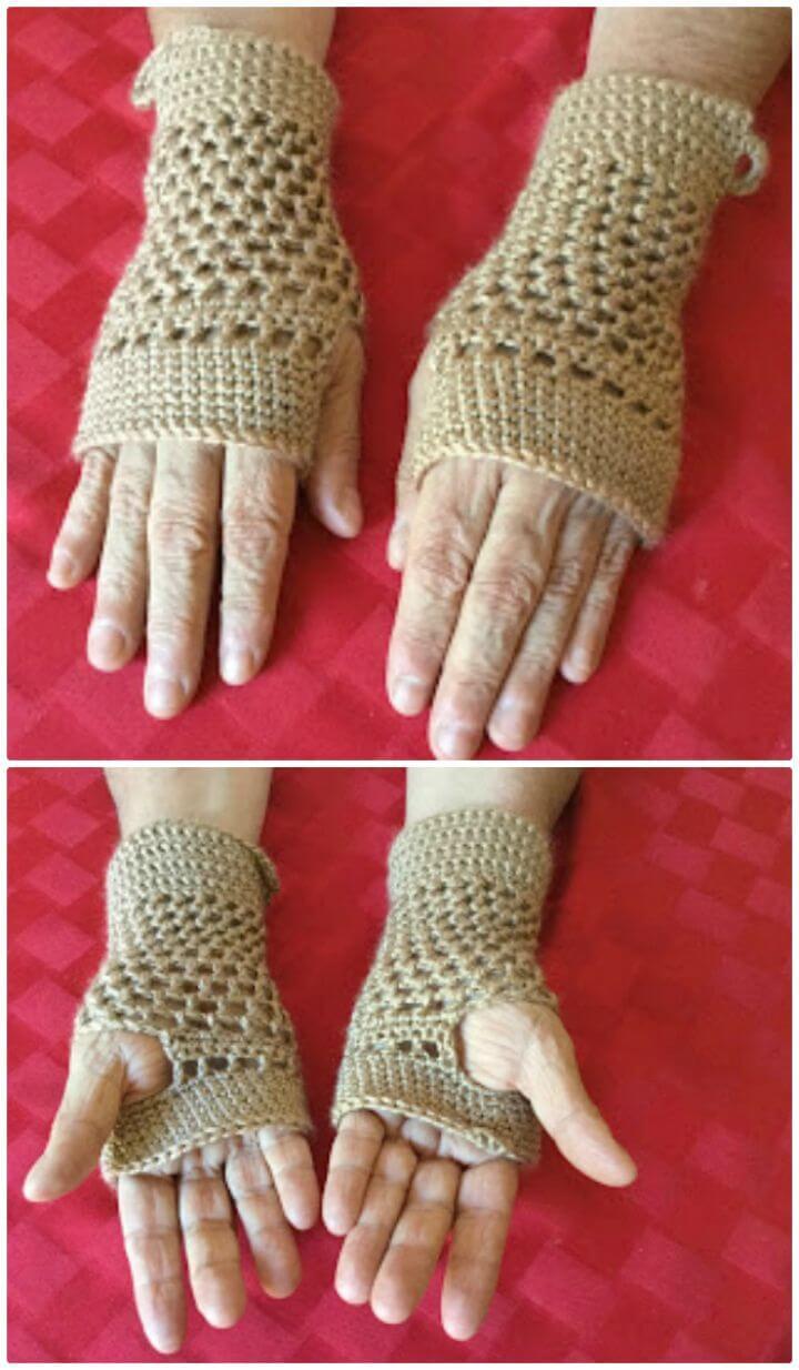 Mens Fingerless Gloves Knit Pattern 54 Free Crochet Fingerless Gloves Pattern For Beginners Diy Crafts