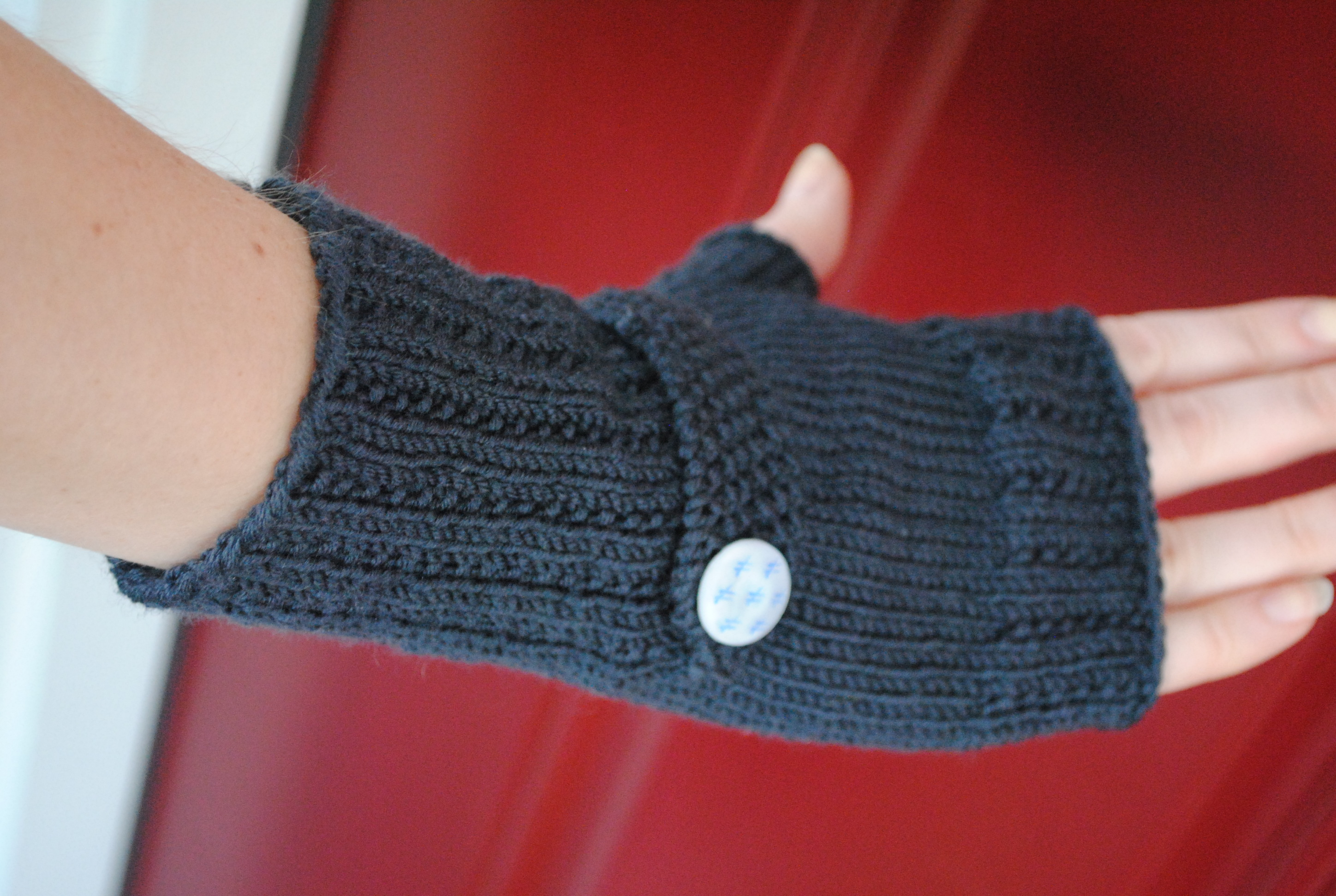 Mens Fingerless Gloves Knit Pattern Knitting Patterns Galore Optimistic Mitts