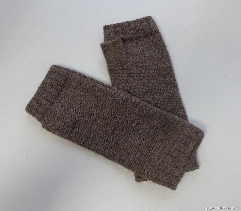 Mens Fingerless Gloves Knit Pattern Micah Alpaca Long Fingerless Gloves Mens Womens Shop Online On Livemaster With Shipping Edx3jcom Kotlas