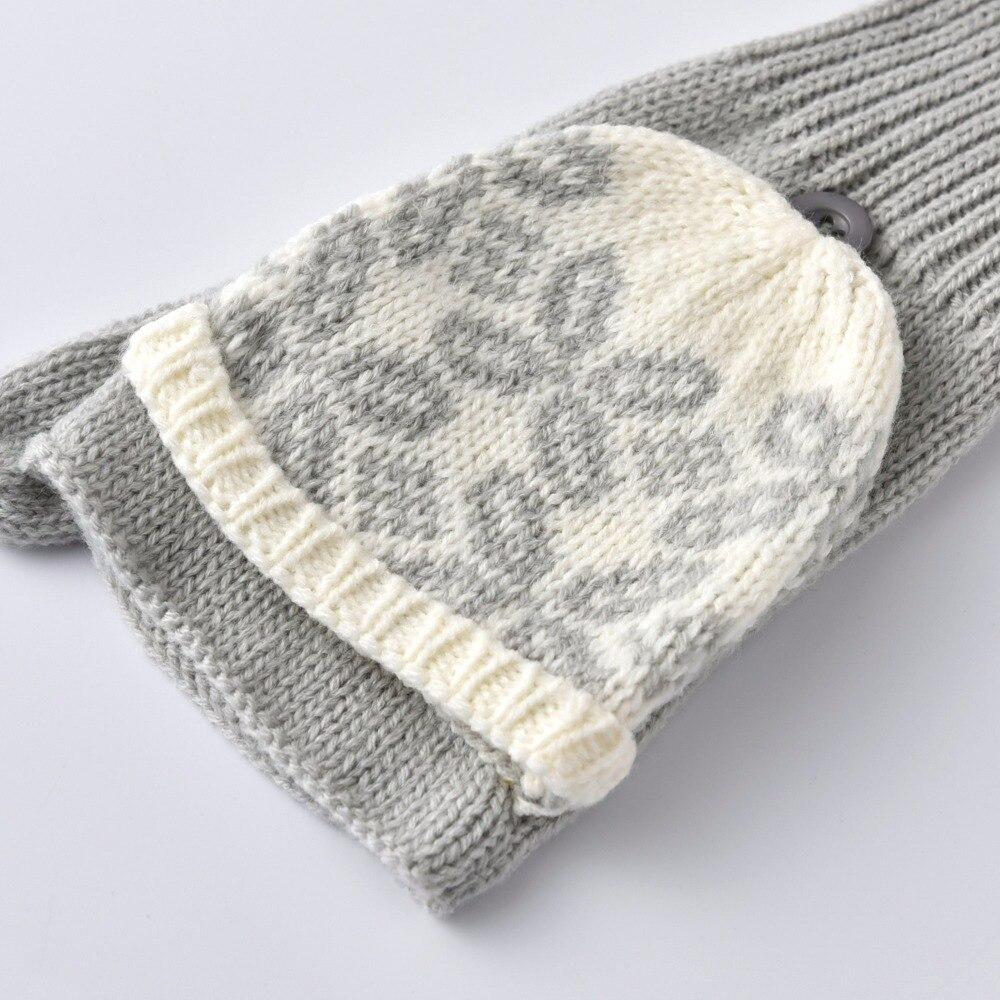 Mens Fingerless Gloves Knit Pattern Us 698 2018 Spring Kbb Women Men Comfy 3 Colours Designer Yarn Knit Pattern Winter Fingerless Gloves Mitten Whole Gloves In Womens Gloves From