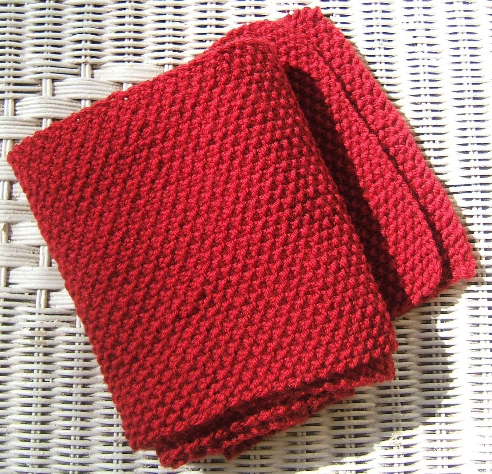 Moss Stitch Scarf Knitting Pattern Aussie Knitting Threads Moss Stitch Scarf Beginners