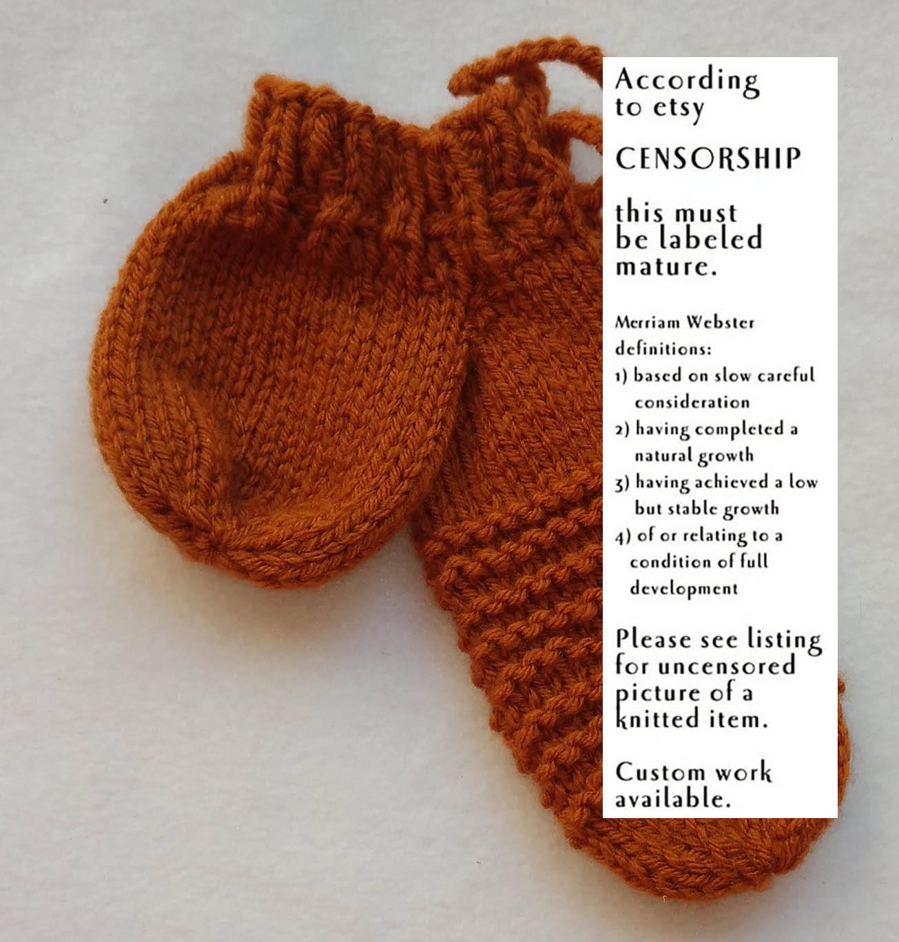 Willie Warmer Knitting Pattern Free Ginger Garter Willie Warmer Penis Cozy Knitted Willy Warmer Mature