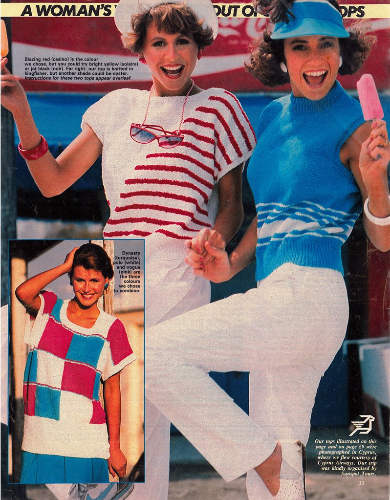 Woman Weekly Knitting Patterns 1980s Womans Weekly 1988 Knitting Pattern Tegwen Parry Flickr
