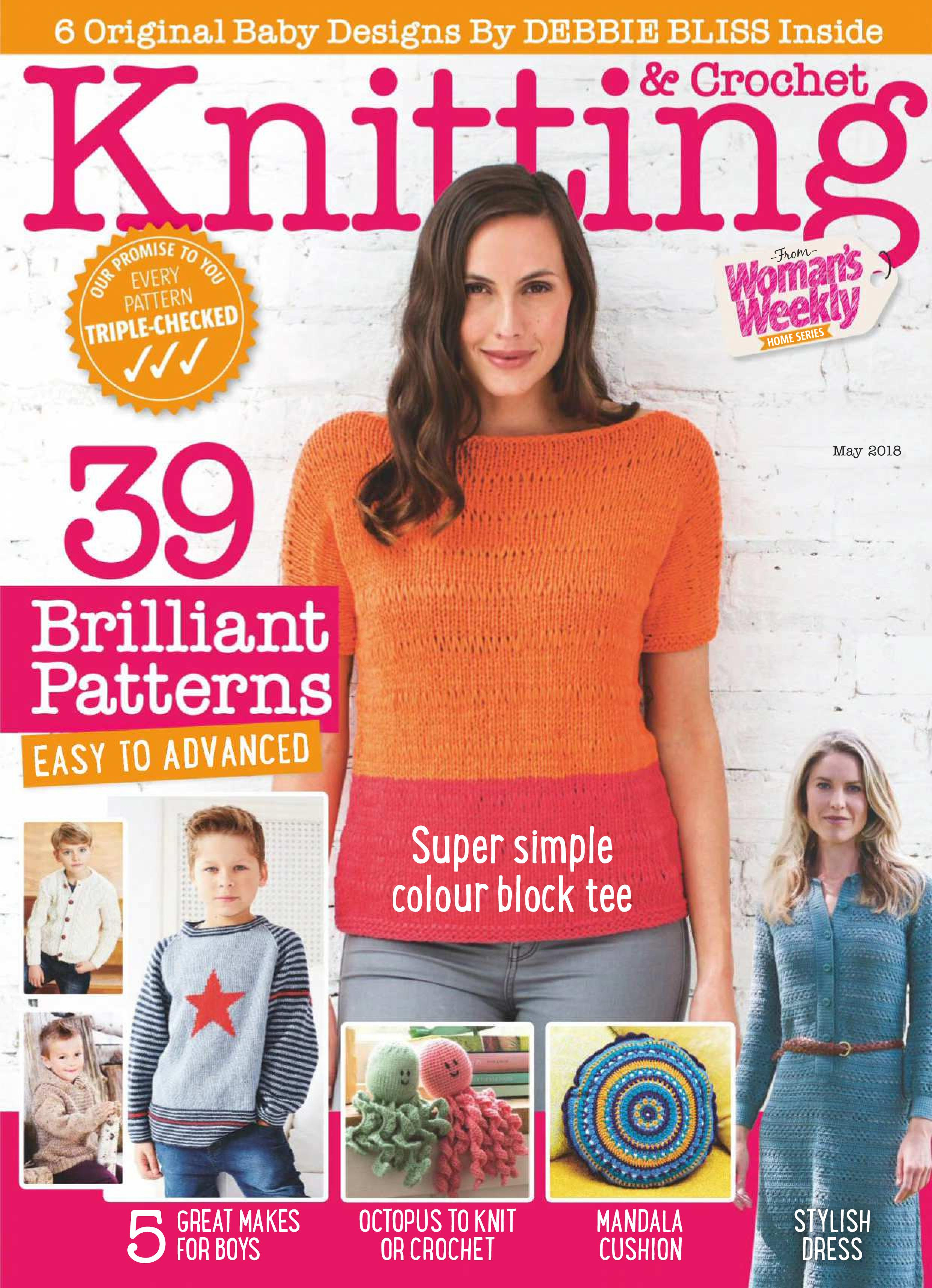 Woman Weekly Knitting Patterns Download Knitting Crochet From Womans Weekly May 2018 Softarchive