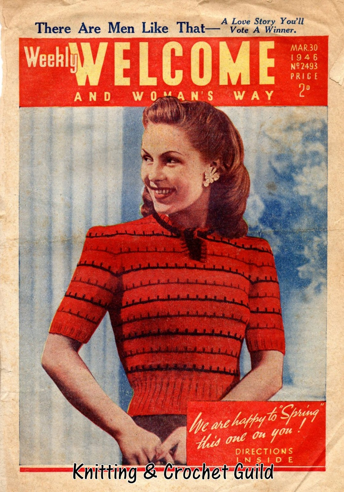 Woman Weekly Knitting Patterns Knitting Now And Then May 2018