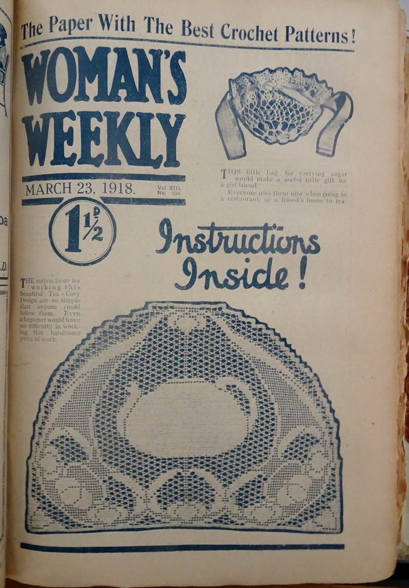 Woman Weekly Knitting Patterns Knitting Now And Then Spending A Day In 1918