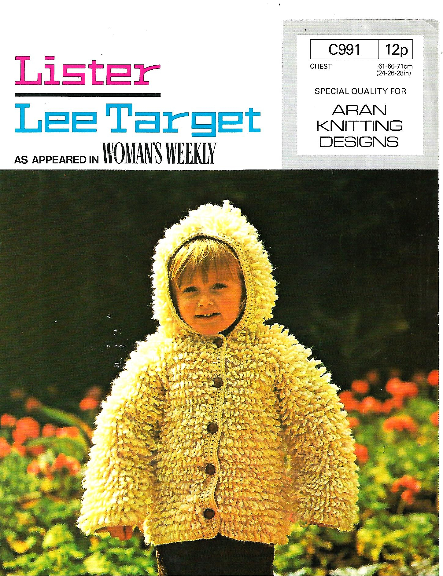 Woman Weekly Knitting Patterns Lister Lee Target C991 Knitting Pattern