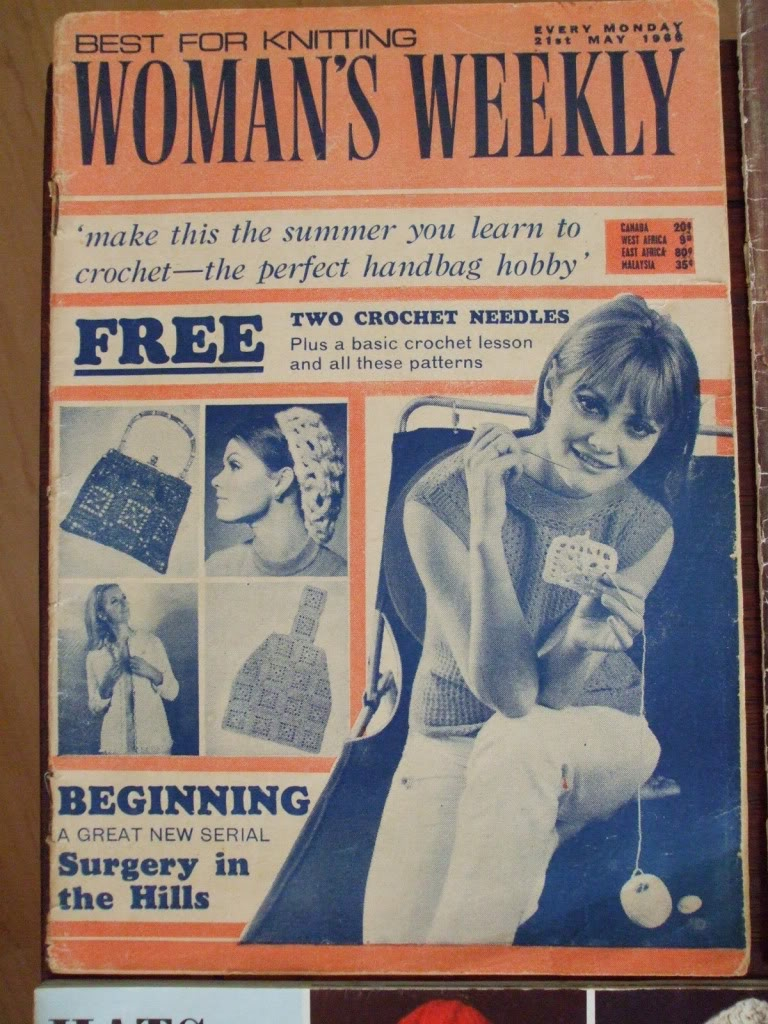 Woman Weekly Knitting Patterns Womans Weekly Knit Vintage Crochet Patterns 1966 Snoods